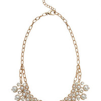 Pearl Bead Collar Necklace