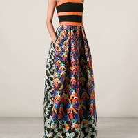 Peter Pilotto 'freya' Textured Print Maxi Dress - Bernard - Farfetch.com