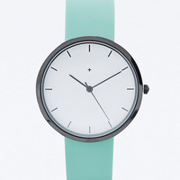 I Love Ugly Samuel Watch in Mint - Urban Outfitters