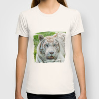 THE BEAUTY OF WHITE TIGERS T-shirt by Catspaws | Society6