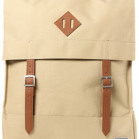 The Survey Backpack in Khaki