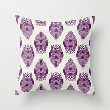 Good Night Throw Pillow by rskinner1122