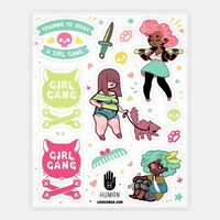 Girl Gang Stickers