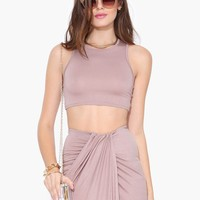 Waterfall Crop Top