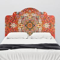 Vintage Rug Adhesive Headboard Wall Decal - WallsNeedLove