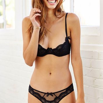 L'Agent By Agent Provocateur Vanesa Lace + Mesh Hipster - Urban Outfitters