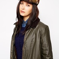Barbour Tweed Flat Cap