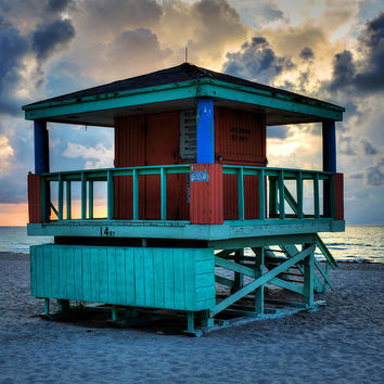 Miami - South Beach Lifeguard Stand 001