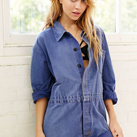 Vintage Faded Coverall Short - Urban Outfitters