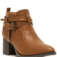 Melbourne cognac booties