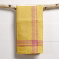 Manor Fine Wares: Yellow Hudson Tea Towel