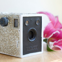 Glittery Box Camera, Wedding Decor