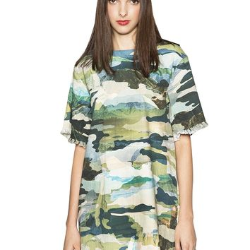 New Divide Camouflage Dress