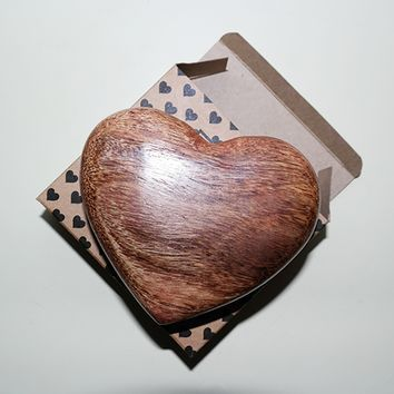 Scented Wooden Hearts