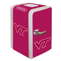 NCAA Virginia Tech Hokies Portable Party Fridge, 15-Quart