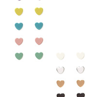 Hearts Stud Set