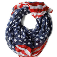 Rock Star-Spangled Scarf | Mod Retro Vintage Scarves | ModCloth.com