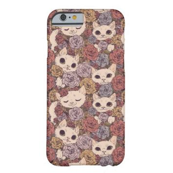 Vintage Sweet Kittens iPhone 6 case