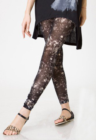 Cosmic Print Leggings - Retro, Indie and Unique Fashion