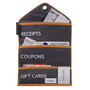 Shopping Organizer for Receipts, Gift Cards and Coupons - OFC01201IVKRSD