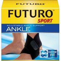 Futuro Sport Adjustable Ankle, Moderate Support, Adjustable (Pack of 2)