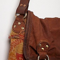 Free People Florence Leather Messenger at Free People Clothing Boutique