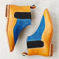 Osborn Indigo Leather Chelsea Boot - Urban Outfitters