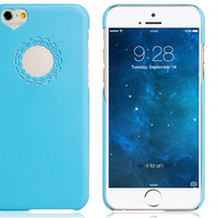 """Love"" Blue Plastic Case for iPhone 6 - Default Title"