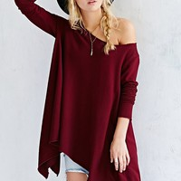 Project Social T Off-The-Shoulder Tunic Top-