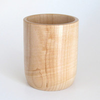 Pencil Cup Handcrafted in Maple
