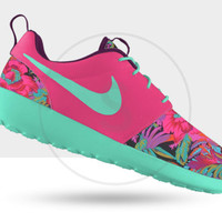 Custom Nike Roshe Run Hawaiian Floral