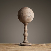 Neoclassical Wood Elements - 19th C. Ball Finial