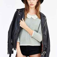 Cooperative Lace Collar Sweater - Urban Outfitters