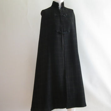 Vintage Cape - Edwardian - Wool Cloak