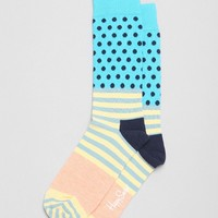 Happy Socks Stripes + Dot Sock - Urban Outfitters