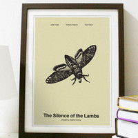 The Silence of the Lambs  - Classic Movie Series Poster A3 Print