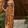 Mecca Printed Maxi Dress