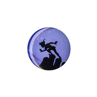 Disney Peter Pan Silhouette Pin