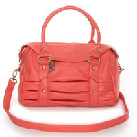 Pretty Coral Handbag - Coral Purse - $41.00
