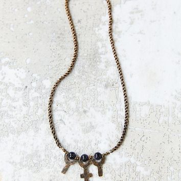 Laurel Hill Triple Chalice Necklace - Urban Outfitters