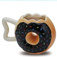 Big Mouth Toys The Donut Mug:Amazon:Kitchen & Dining
