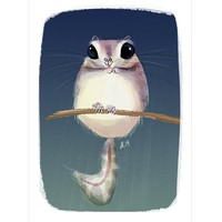 Momonga Flying Squirrel Print