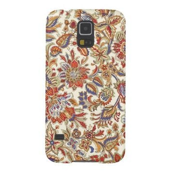 Abstract Floral Pattern Samsung Galaxy S5 Case