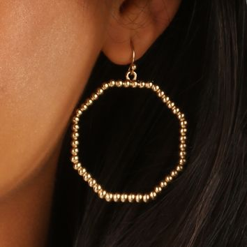 Loyalties Earrings: Gold