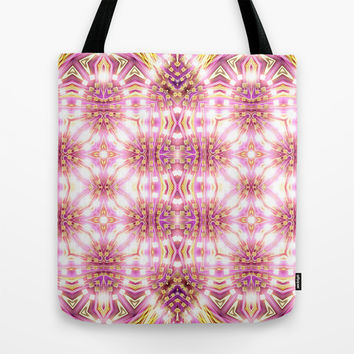 Pink Energy Glow #3 Tote Bag by Webgrrl | Society6