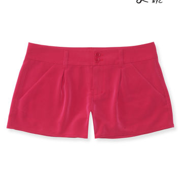 Lorimer Woven Pleated Shorts