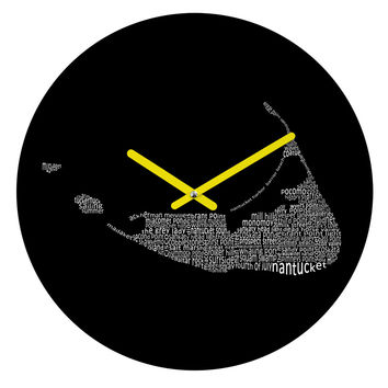 Restudio Designs Nantucket 2 Round Clock