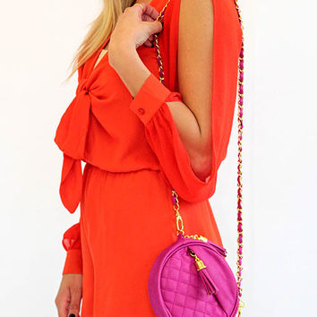 Haute In Here Hot Pink Cross Body Bag - Lotus Boutique