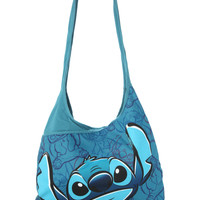 Disney Lilo & Stitch Blue Hobo Bag