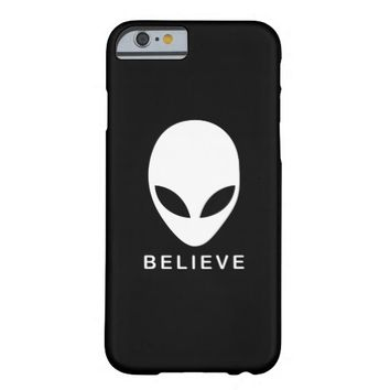 Alien Believe iPhone 6 Case> Alien Believe > Alienwear Apparel